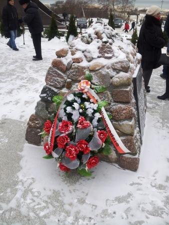 Wieniec od Konsulatu Polskiego w Kaliningradzie