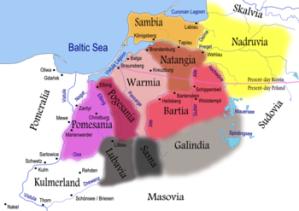 Krainy historyczne Prus