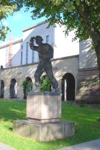 Pomnik Kolportera Książek w Kownie