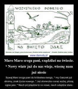 Wierszyk o Marzannie z Demotywatorów