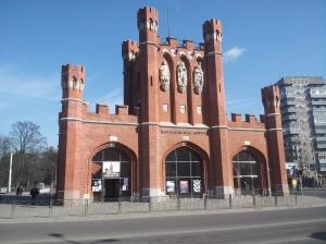 Brama Królewska przy ulicy Wał Litewski