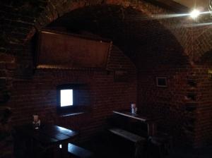 Wnętrza wieży Wrangel