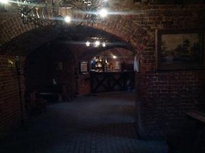 Bar w knajpce Wieża Wrangel