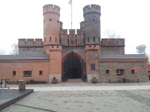 Brama Twierdzy Friedriechsburg - Muzeum Floty Rosyjskiej w Kaliningradzie