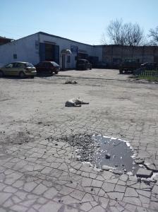 Teren lotniska Devau Kaliningrad