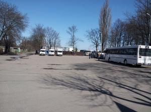 Zajezdnia w dzielnicy Devau Kaliningrad