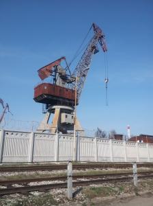 Żuraw w Kaliningradzie