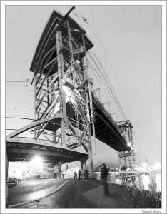 Podniesienie mostu Kaliningrad
